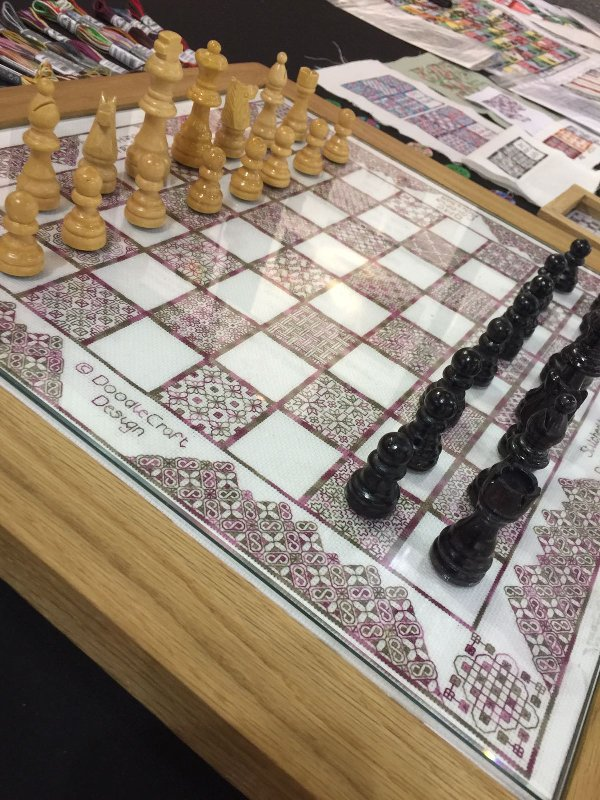 Stitch-your-own Chess Board