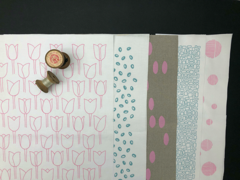 screen printed linens and cotton